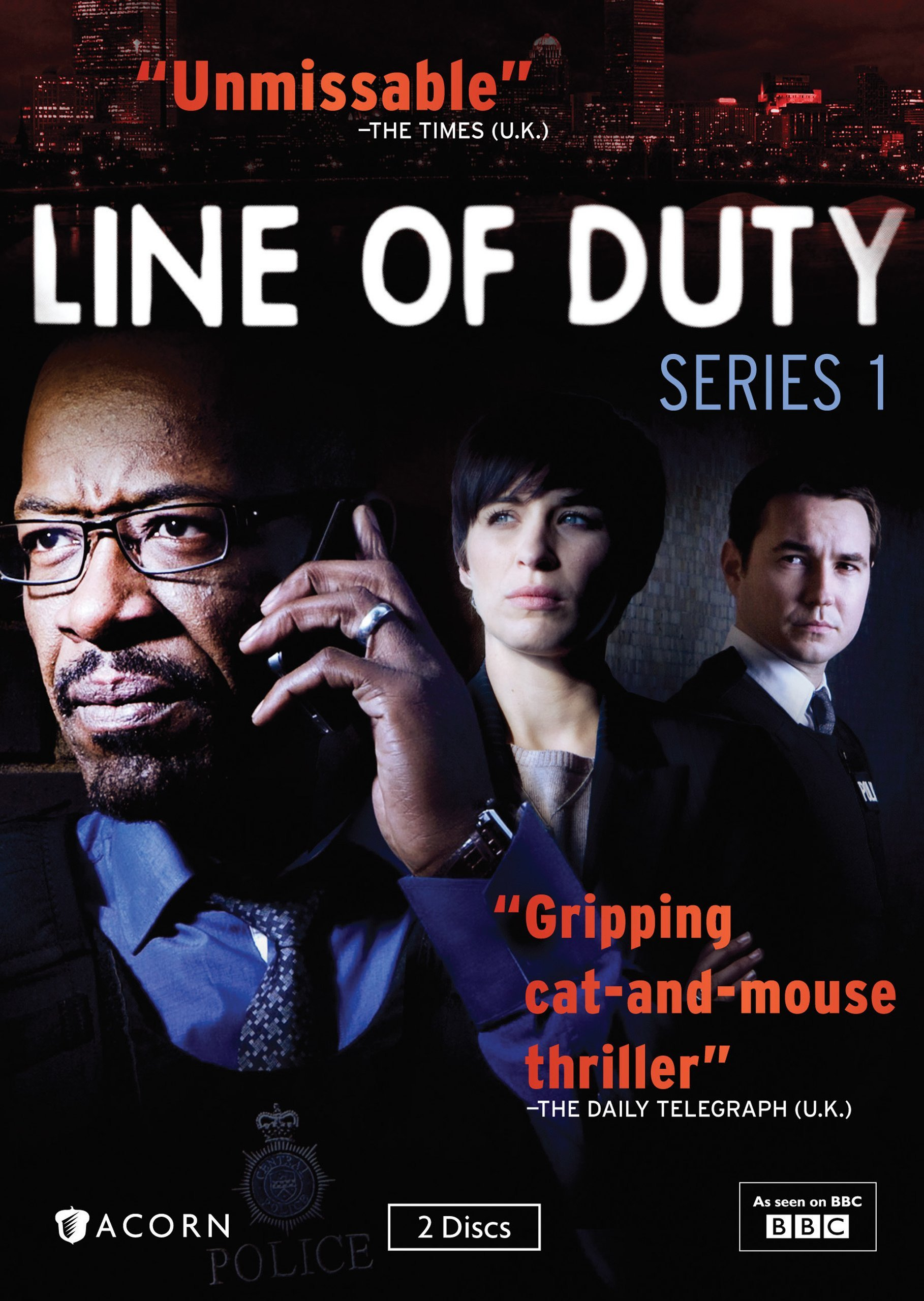 Book Cover: Line of Duty: Series 1