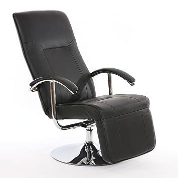 Fauteuil relax chaise longue chaise longue apia ii rotatif simili cuir - Fauteuil relax simili cuir ...