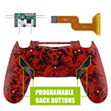 eXtremeRate Dawn Programable Remap Kit for PS4 Controller with Mod Chip & Redesigned Back Shell & 4 Back Buttons - Compatible with JDM-040/050/055 - Demons and Monsters (Color: Demons and Monsters)