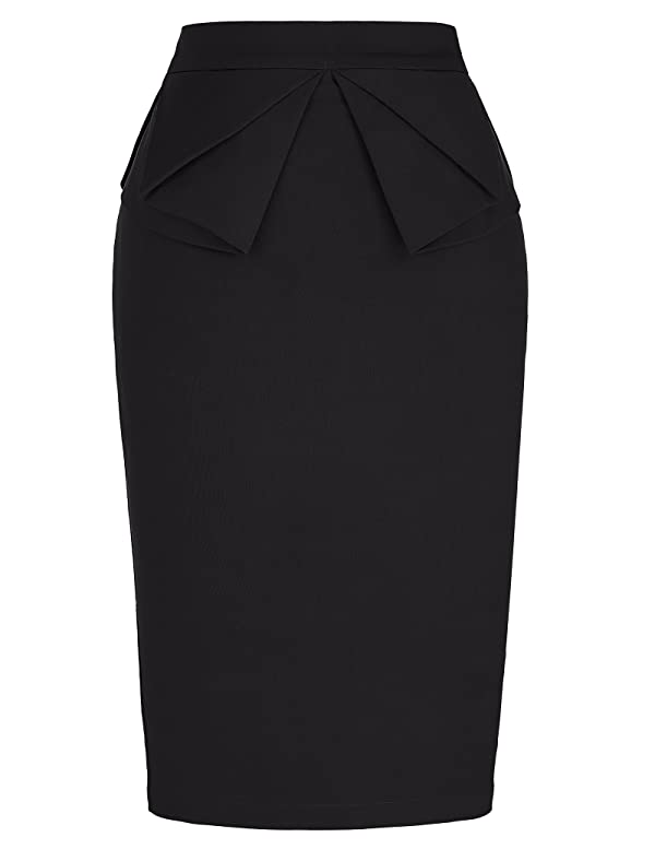 BSJIA Womens Asymmetrical Skirt High Waist Gothic Dance Short Mini Bodycon Skirts