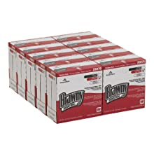 "Brawny Industrial 20070/03 White Premium All Purpose DRC Wiper, 16.3"" Length x 9.25"" Width (Case of 10 Boxes, 90 per Box)"