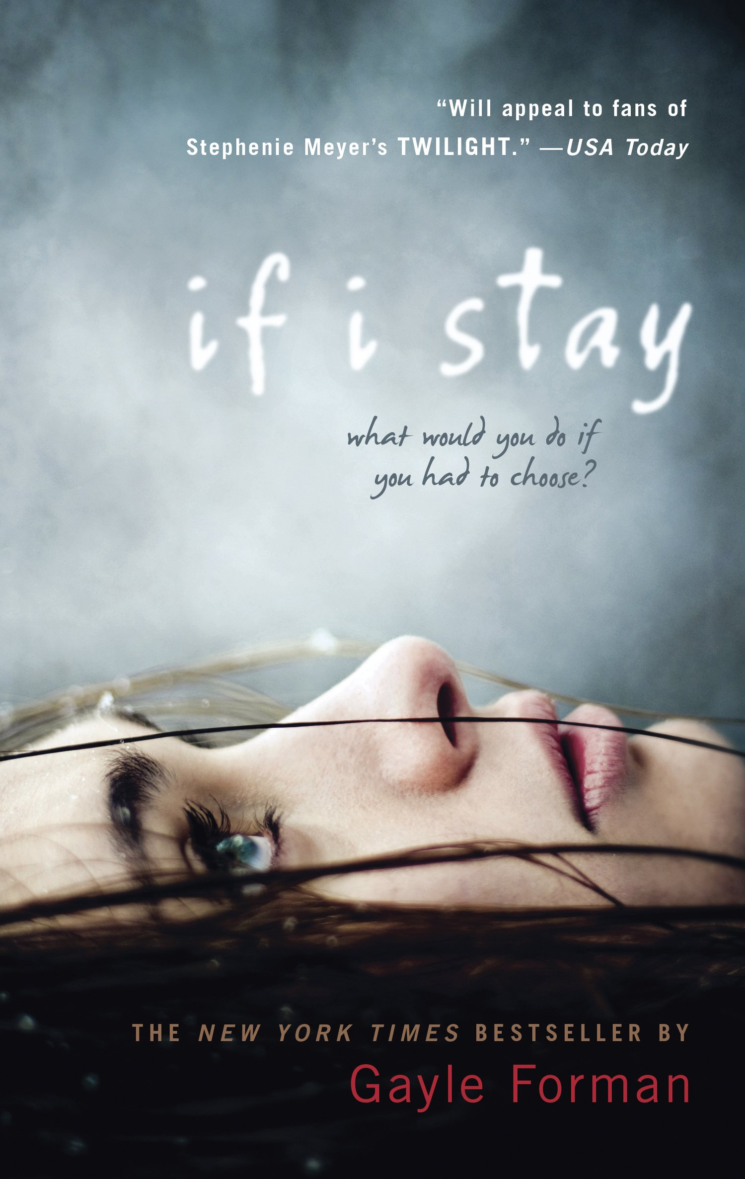 Book cover to 'If I Stay'