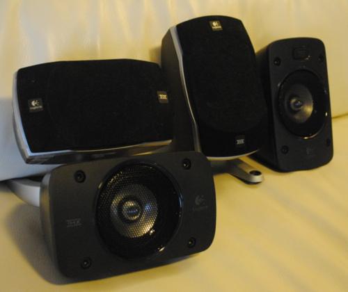 Amazon Com Logitech Surround Sound Speaker System Z906