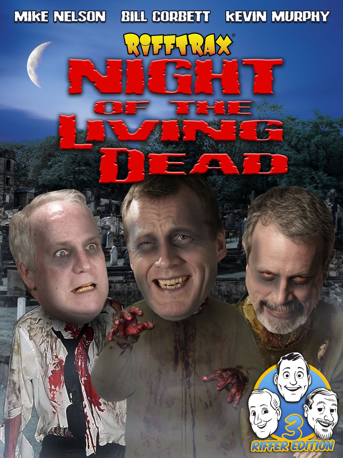 RiffTrax: Night of the Living Dead (Three Riffer Edition) on Amazon Prime Video UK
