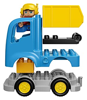 LEGO DUPLO Town Truck & Tracked Excavator 10812 (Color: Multicolor, Tamaño: One Size)