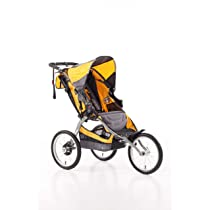 Yellow BOB Ironman Single Stroller