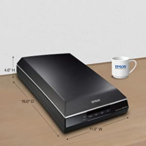 Epson Perfection V600 Color Photo, Image, Film, Negative & Document Scanner - Corded