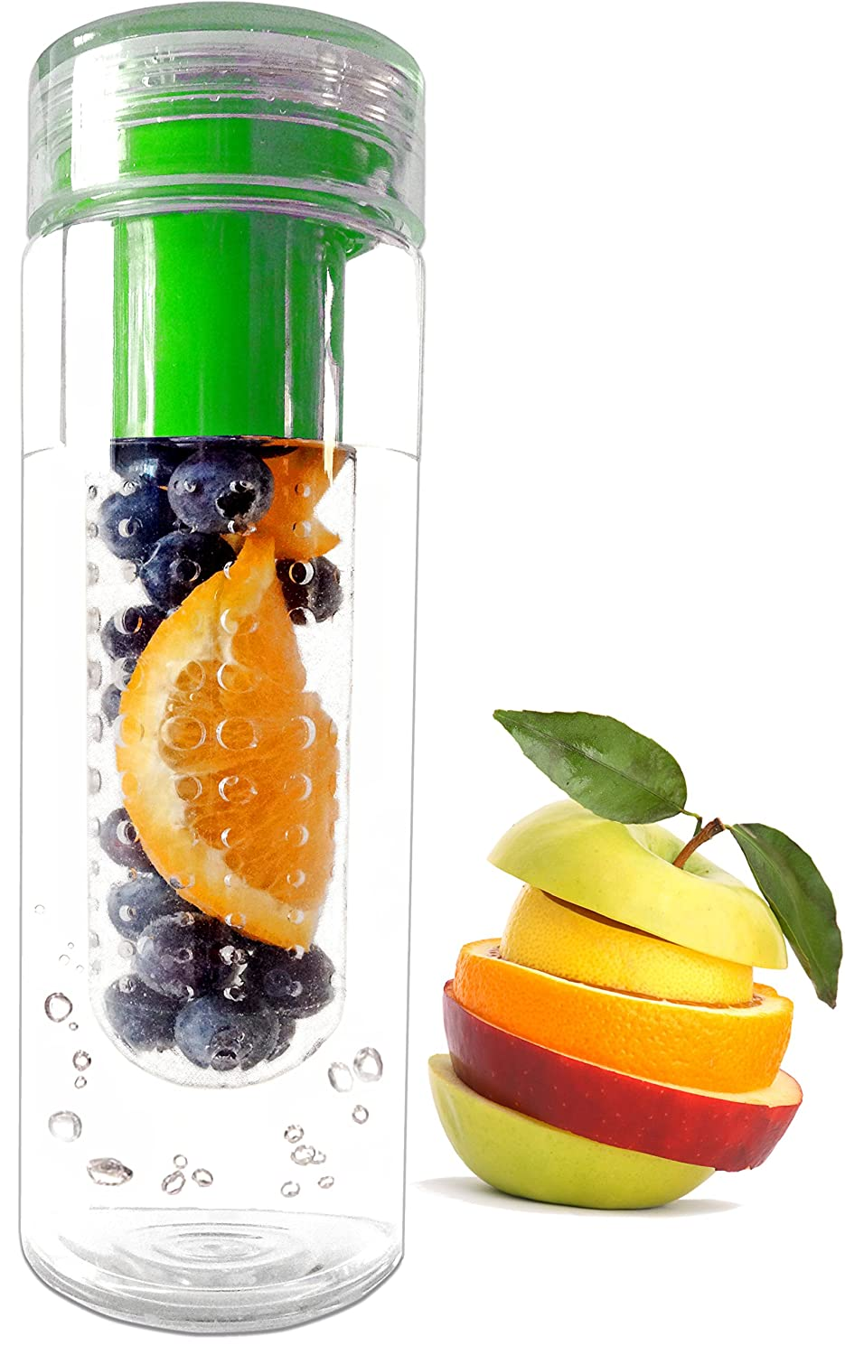 fruit water bottle how much is a serving of fruit