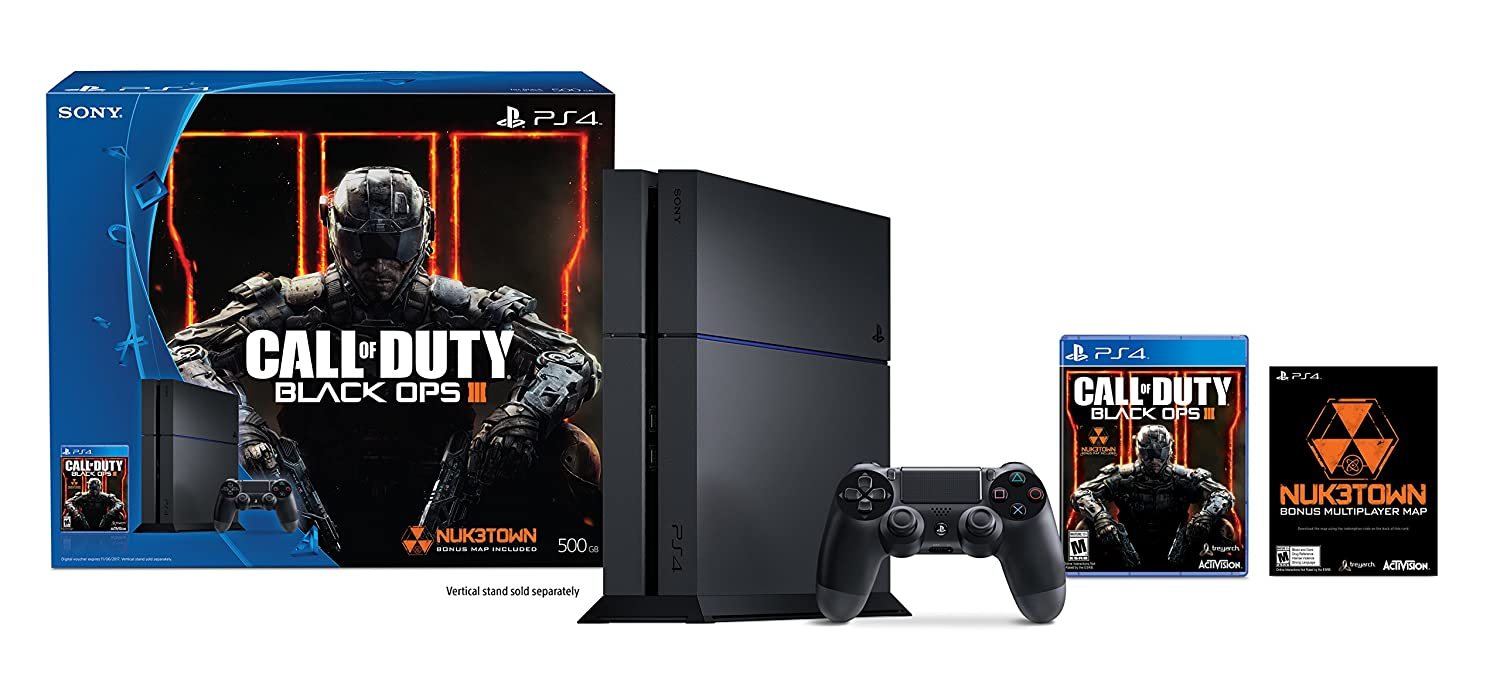 PlayStation 4 500GB Console - Call of Duty Black Ops III Bundle