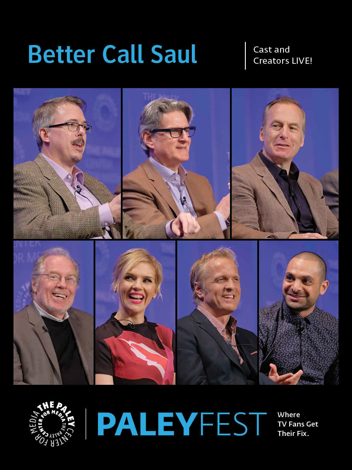 Better Call Saul: Cast and Creators PaleyFest on Amazon Prime Video UK