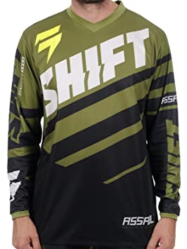 Maillot Motocross Shift 2015 Assault Race Noir-Vert
