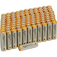 100-Pack AmazonBasics AA Performance Alkaline Batteries
