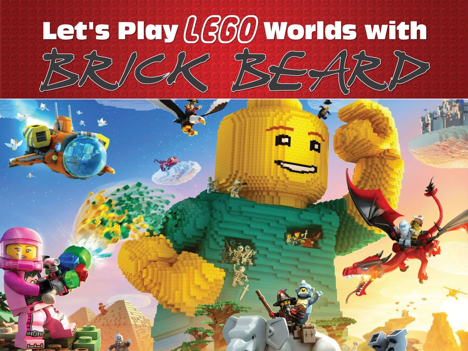 Clip: Let's Play Lego Worlds with Brick Beard - Season 1