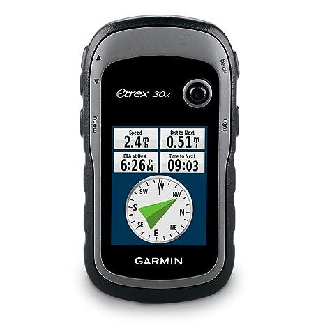 Garmin eTrex 30x - GPS de Randonnée avec Compas Électroniques 3 Axes - Cartographie TopoActive Europe de l'Ouest Préchargée