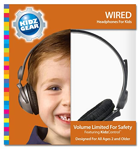 Digital Product Reviews: Kidz Gear Volume Limit Headphones Review