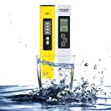 Digital PH TDS Test Meter, Balleen.E TDS EC Temperature PH Measurement 4 in 1 Water Quality Texter Meter Set for Household Drinking Water quality, Swimming Pools, Aquariums, Hydroponics