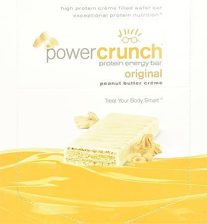 BNRG Power Crunch Protein-Energieriegel Peanut Butter Creme 12 Riegel je 40 g