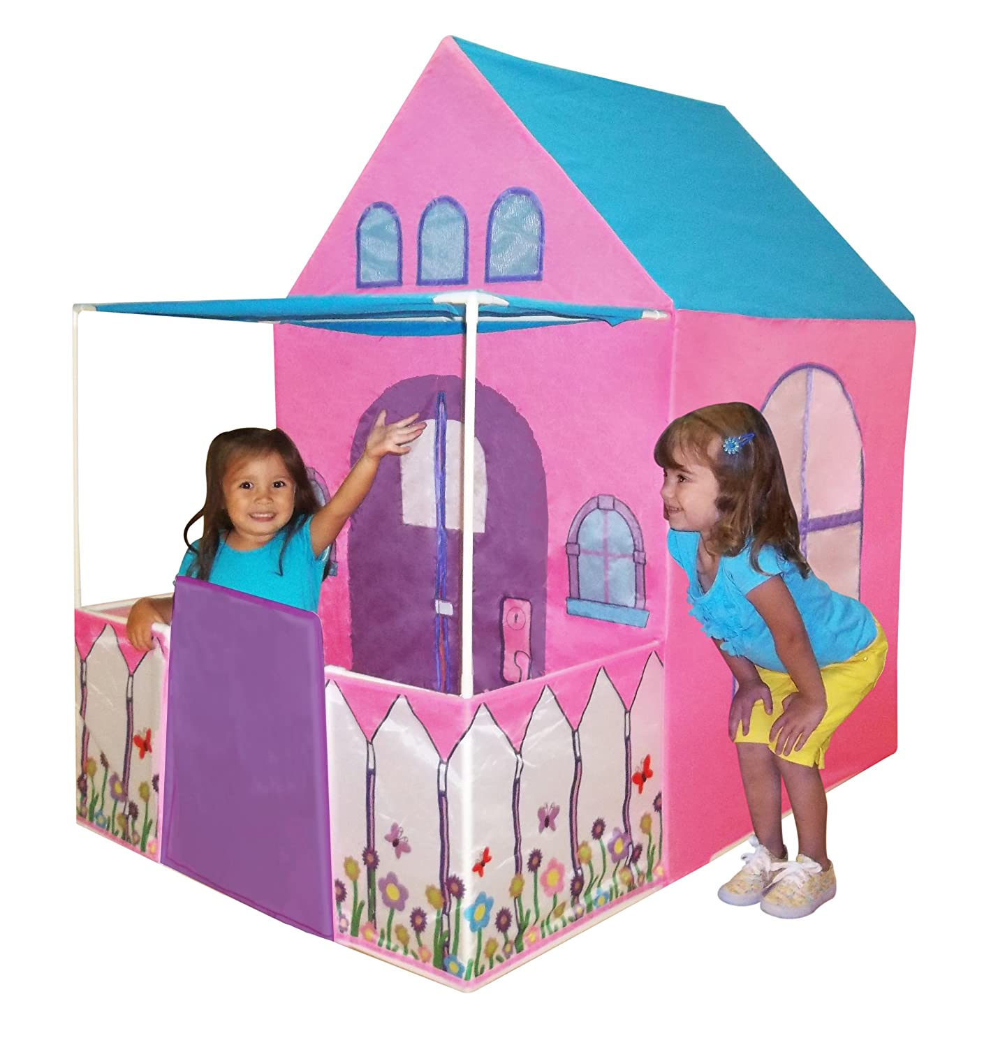 Playhouse Victorian Princess Castle Play tent with fenced patio by Kids Adventure by Kids Adventure günstig