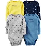 Carter's Baby Boys' Multi-PK Bodysuits 126g338, Assorted, 9 Months (Color: Assorted, Tamaño: 9 Months)