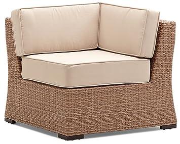 o0o strathwood griffen fauteuil fauteuil de jardin d 39 angle modulaire en r sine r sine. Black Bedroom Furniture Sets. Home Design Ideas