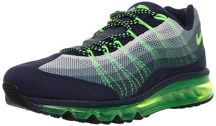 da4fa4de1299 mens nike air max 95 dynamic flywire running shoes review