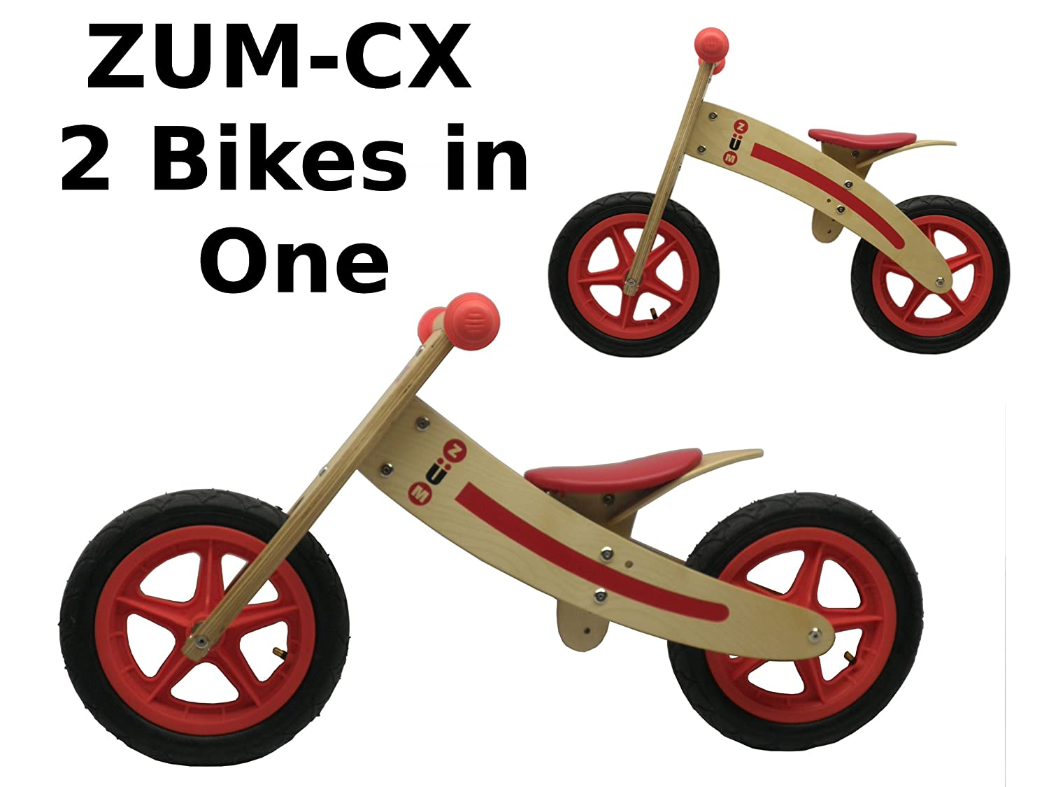 ZÜM CX Wooden Best Balance Bike Reviews