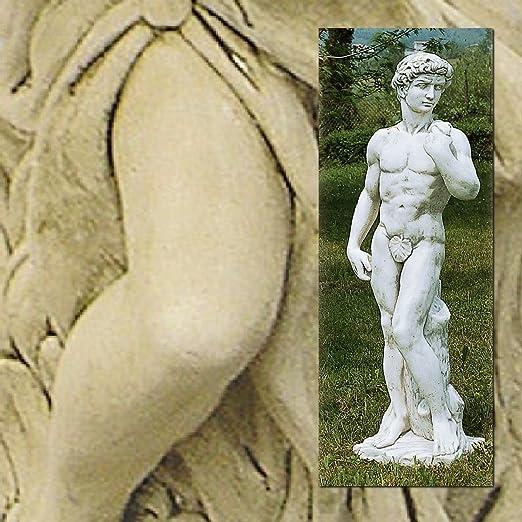 Statue de jardin David Grand cm130h dans les différents coloris Antique