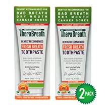 Dr. Katz TheraBreath Oxygenating Toothpaste with Aloe Vera 4-Ounce Tubes (Pack of 2)