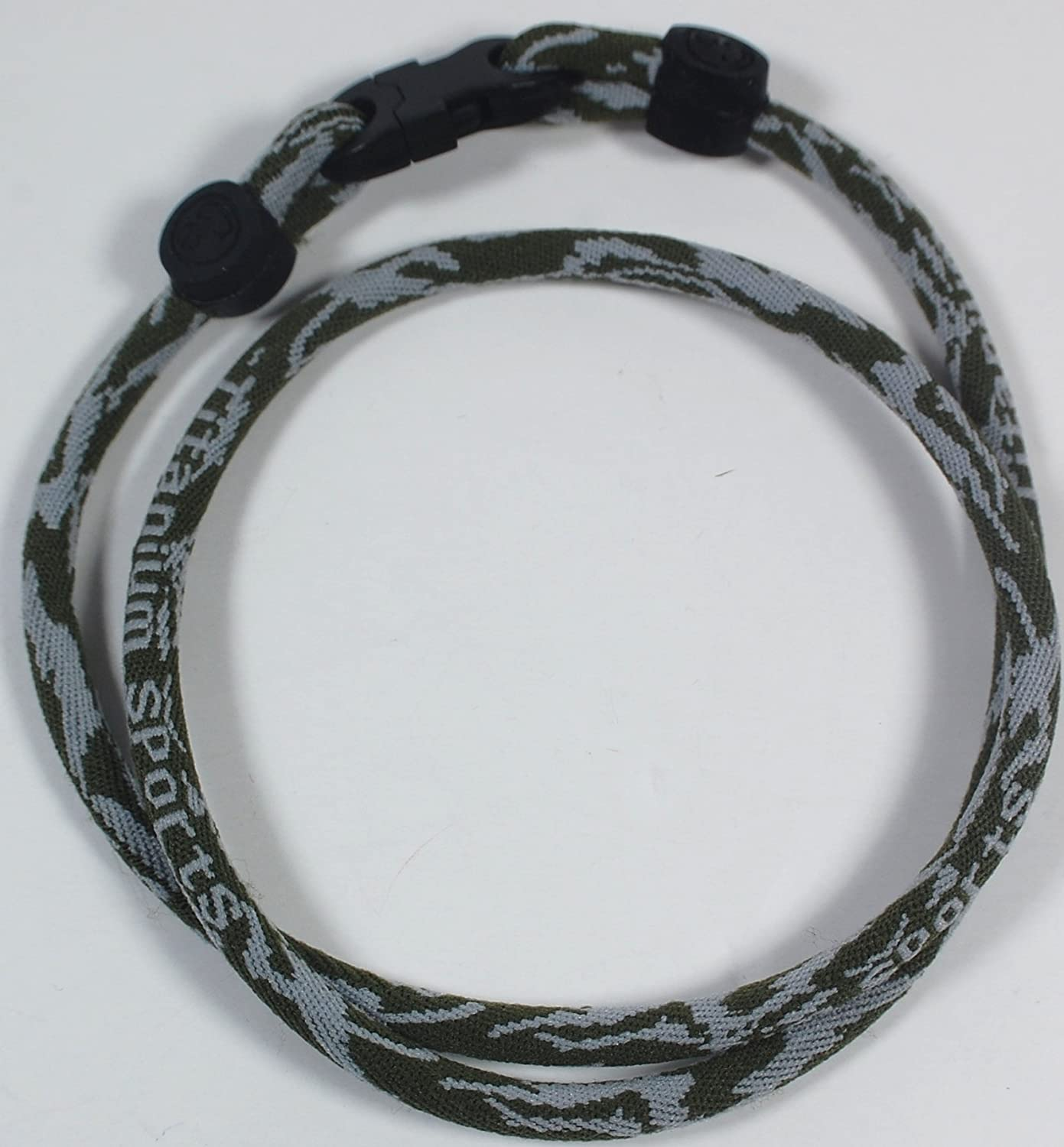 NEW! 22 Large Camo Single Tornado Ionic Necklace With Case extreme sports surf