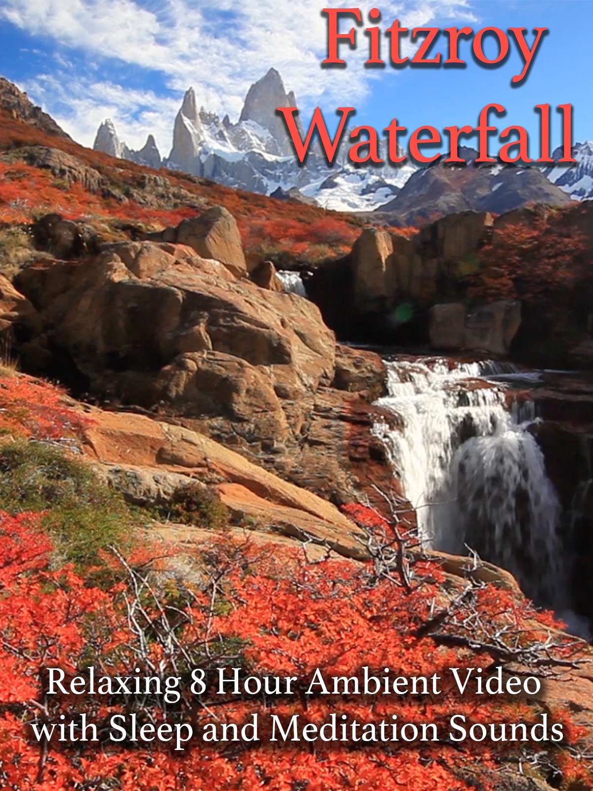 Fitzroy Waterfall Relaxing 8 Hour Ambient Video with Sleep and Meditation Sounds
