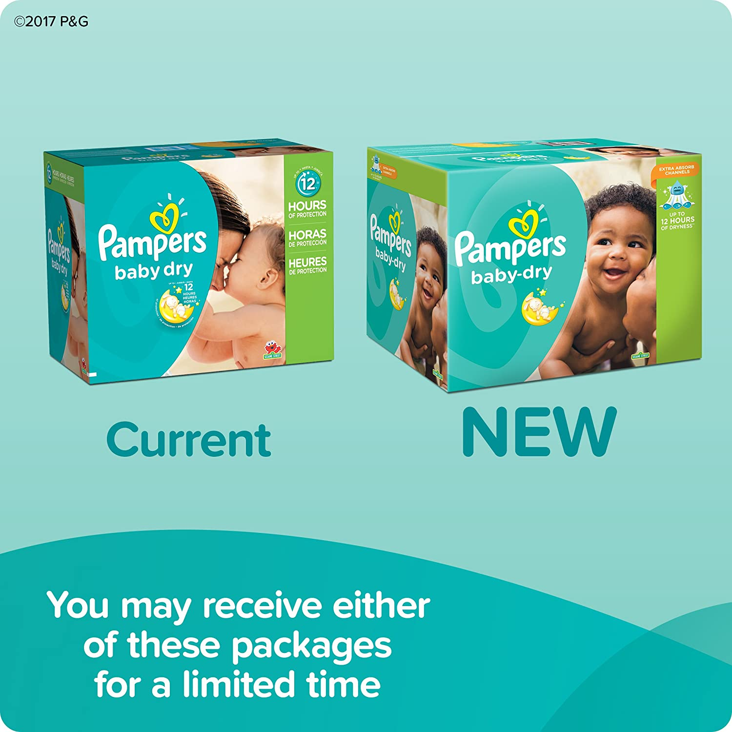 Amazon.in: Buy Pampers Baby Dry Diapers Size 3 Economy Pack Plus ...