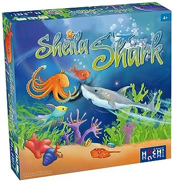 """Huch & Friends - 878687 - Jeu De Société """"Sheila Shark"""""""