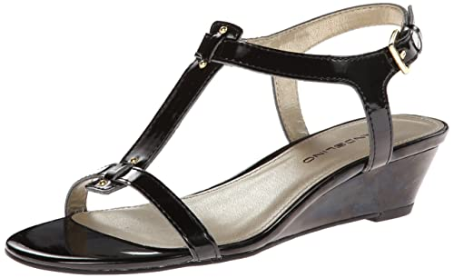 Ladies Authentic Bandolino Wo7gurrey Wedge Sandal Discount Sale More Collections