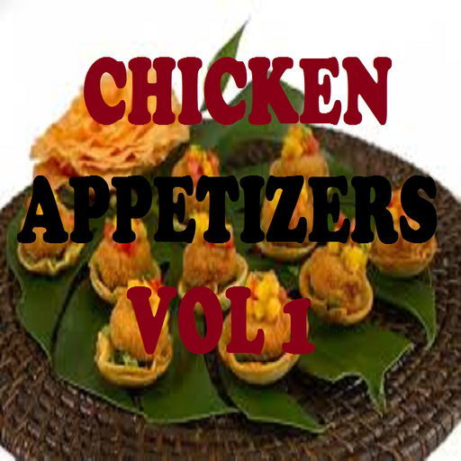 Chicken Appetizers Recipes Cookbook Vol 1 front-385349