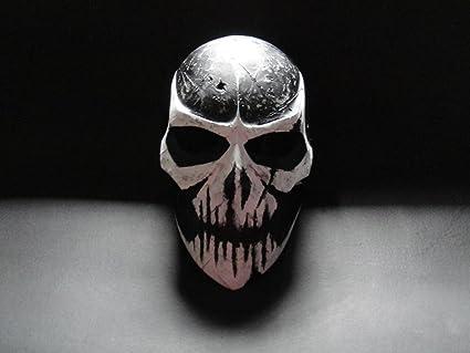 Paintball Masks Skull Mask White Skull