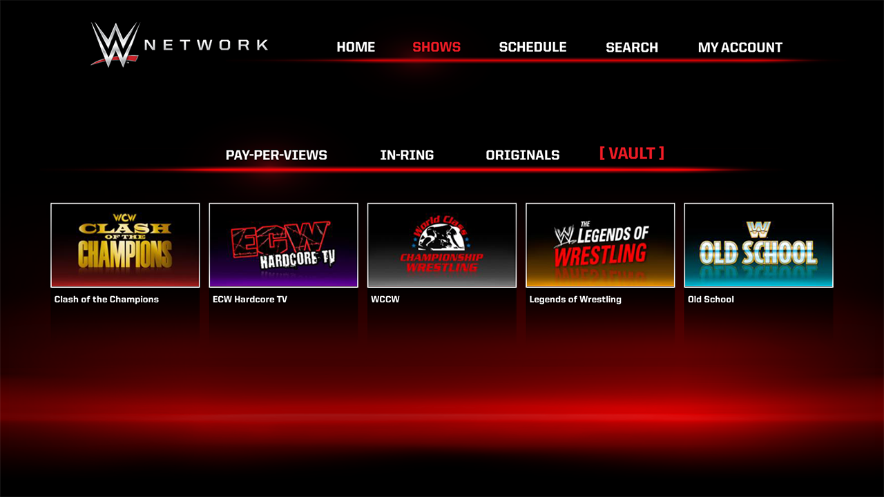 how to download video wwe network