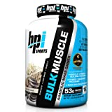 BPI Sports Bulk Muscle Protein Powder, Whipped Vanilla, 5.8 Pound (Tamaño: One Size)