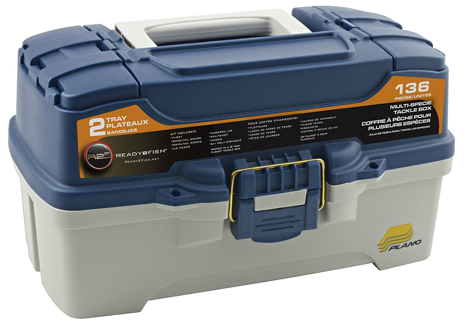 Top 10 best fishing tackle boxes with adjustable for Best fishing tackle box