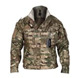 ZAPT 1000D Cordura US Army Tactical Jacket Military Waterproof Windproof Hard Shell Jackets (Multi cam, Large:45-48'') (Color: Multi cam, Tamaño: Large:45-48'')