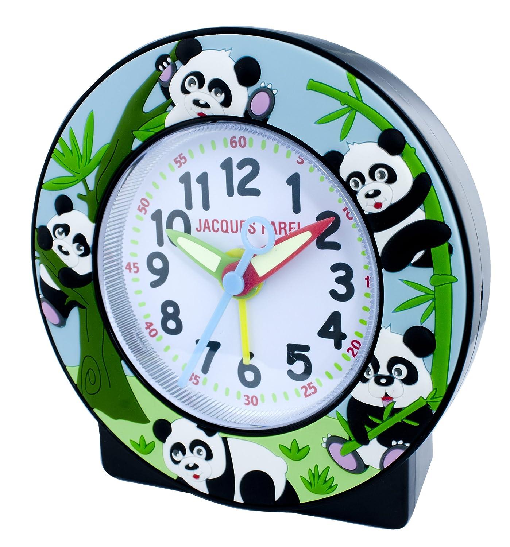 JACQUES FAREL ACOP888 Kinderwecker Junge Wecker Panda Kunststoff Analog schwarz leise Sekunde kaufen