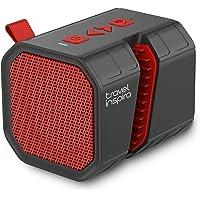 Travel Inspira TIBS02BR Portable Wireless Speaker (Red)