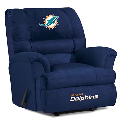 NFL Miami Dolphins Big Daddy Microfiber Recliner