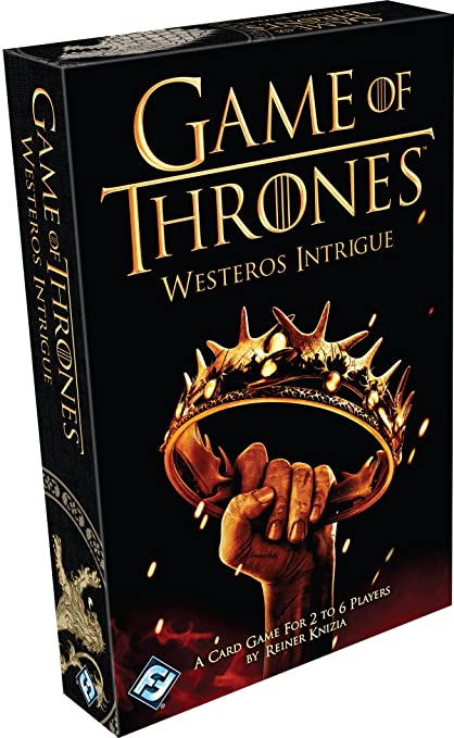 Game Of Thrones - HBO09 - Jeu De Cartes - Westeros Intrigue