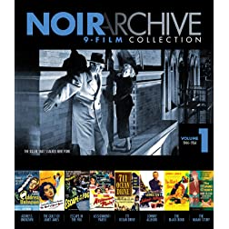 Noir Archive Volume 1: 1944-1954 9 Movie Collection [Blu-ray]