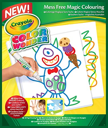 crayola color wonder drawing paper 30 sheets - Crayola Online Drawing