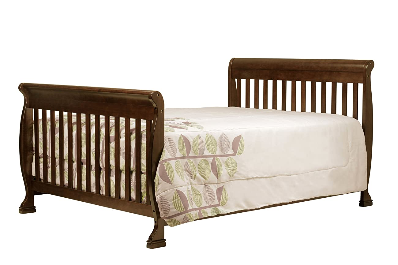 DaVinci Kalani 4-in-1 Convertible Crib with Toddler Rail, Espresso 4