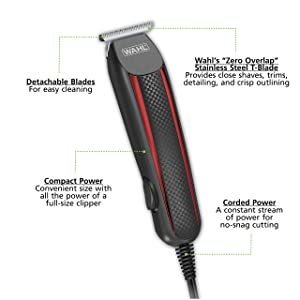 Wahl T-Styler Pro Corded Trimmer, 9686-300