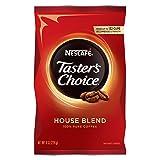 Nescafe Coffee, Taster's Choice, House Blend,  8 Ounce (Tamaño: 8 oz)