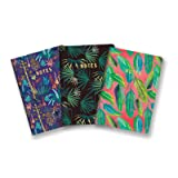 Studio Oh! 3-Pack Notebooks in Coordinating Designs Available in 12 Different Bundles, Justina Blakeney Botanical Collection