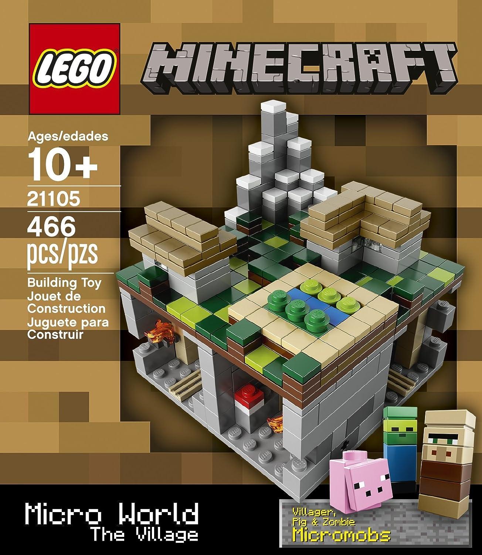 Lego Cuusoo Minecraft 21105 - das Dorf